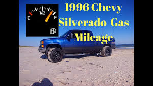 Chevy Silverado Gas Mileage - YouTube
