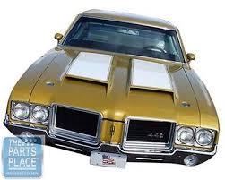 1971 72 oldsmobile cutlass 442 steel frame hood kit new 1971 72 oldsmobile cutlass 442 steel frame hood kit new