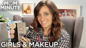 when should you start wearing makeup mom minute with mindy of cuteshairstyles you