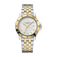 raymond weil men s tango date silver and gold bracelet watch raymond weil men s tango date silver and gold bracelet watch 5599 stp 00308