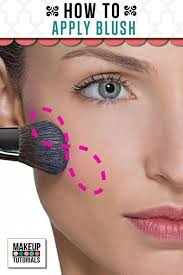 makeup ideas how to apply blush easy step by step tutorial for beginners