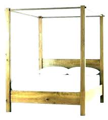Wood Canopy Bed Island King Solid Twin – tubeview.co