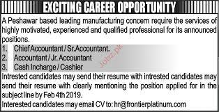 Chief Accountant Jobs In Private Company 2019 Job