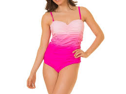 Coco Limon One Piece Missy Swimsuit Pink