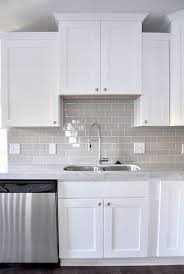 kitchen backsplash white cabinets. Kitchen Backsplash White Cabinets Grey Granite Countertop Sundance Wood  Storage Cabinet Square Sink With Metal Faucet Greek Marble Honed And Deep Beveled Kitchen Backsplash White Cabinets .