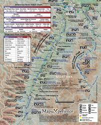 Bitterroot River Fishing Map