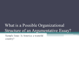 the argumentative essay ppt video online what is a possible organizational structure of an argumentative essay