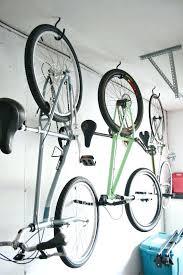 homemade bike rack for garage how to hang bikes in the garage via dream green bike homemade bike rack for garage