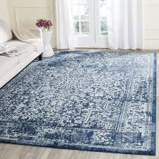 large living room rugs furniture. safavieh evoke vintage oriental navy ivory distressed rug 10u0027 x 14u0027 large living room rugs furniture