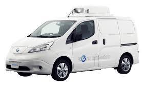 2018 nissan env200. exellent nissan nissan env200 fridge concept electric refrigerated van at tokyo motor show inside 2018 nissan env200