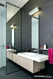 long bathroom mirrors. Narrow Bathroom Mirror Or Check This Long Innovative Use Of Space Creates A Seamless . Mirrors S