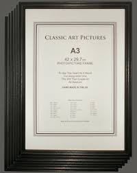 poster frames uk multi packs a3 photo frames bargain box six a3 picture frames free