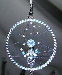 Are Dream Catchers Good Or Bad White Christmas Dreamcatcher Blue White Dreamcatcher Snowflake 87