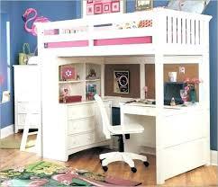 bunk beds with slide and desk. Modren Slide Kids Loft Bed With Slide Desk Gorgeous Bunk Beds Home  Design Ideas   Throughout Bunk Beds With Slide And Desk