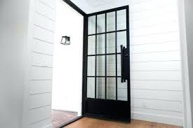 all glass entry door modern iron entry door by first impression full glass front door with sidelights