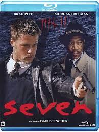 Seven [Blu-ray] [IT Import]: Amazon.de: Brad Pitt, Morgan Freeman, Kevin  Spacey, Gwyneth Paltrow, John C. McGinley, Mark Boone Junior, David  Fincher, Brad Pitt, Morgan Freeman: DVD & Blu-ray