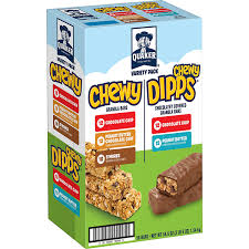 grab quaker chewy granola bars and dipps variety pack 58 count midgetmomma