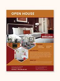 mortgage flyer template mortgage open house flyer template in adobe photoshop illustrator