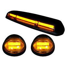 Led Cab Lights Recon Oled Bar Style Black Amber Led Cab Roof Lights