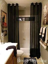 floor to ceiling shower curtains make