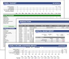 010 Free Excel Budget Templates Money Management Template