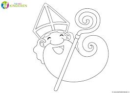 20 Idee Sinterklaas Hoed Kleurplaat Win Charles