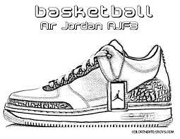 Jordans Coloring Pages Coloring For Kids Pinterest