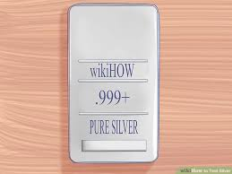 Silver Acid Test Color Chart The Best Ways To Test Silver Wikihow