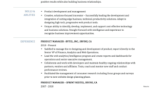 Product Management Resume Resume Product Manager Resume 86