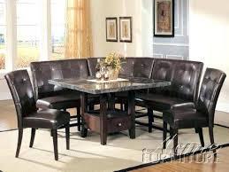corner furniture pieces. Corner Pieces Furniture Bedroom Acme 6 Piece Breakfast Nook Metal