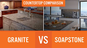 Marble Vs Granite Kitchen Countertops Granite Vs Soapstone Countertop Comparison Youtube