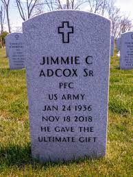 Jimmie Crosby Adcox, Sr (1936-2018) - Find A Grave Memorial
