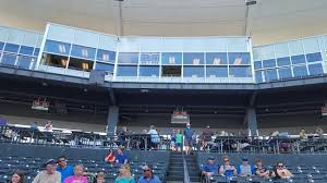 View From The 1st Base Dugout Picture Of Arvest Ballpark
