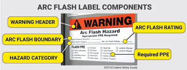 Arc Flash Ppe Chart 2017 Arc Flash Labeling Updated Creative Safety Supply