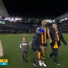 Hawthorn shaun burgoyne announces retirement. Shaun Burgoyne Gets Chaired Off By Both Teams With A Guard Of Honour Afl