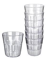 Стаканы ударопрочные пластиковые 250 мл. <b>Набор стаканов</b> - <b>6</b> ...