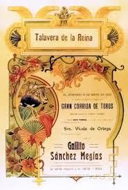 Resultado de imagen de cartel de talavera 1920
