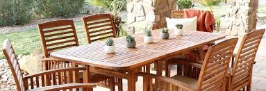 outdoor dining sets at our best patio wood dining table set outdoor faux