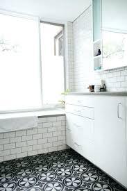black and white bathroom tiles. Black White Tile Bathroom Floor Gray And Striking Tiles