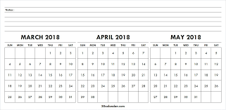 blank march calendar 2018 march april may calendar 2018 blank 3 month calendar template