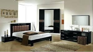 Modern Italian Bedroom Bedroom Set Furniture Moon Brown Modern