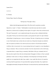 same sex marriage persuasive essay persuasive essay ubd by destry intake officer cover letter
