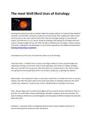 Birth Chart Future Reading Astrology Career Reading By Lisanovitce Issuu
