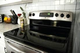 glss p sve cleaning cooktops glass clean stove top with vinegar and baking soda