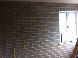 painting bedroom how to make a faux brick wall using paint hometalk