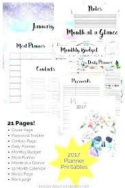 Week At A Glance Calendar Template Blank Month At A Glance Template Free Printable Calendar By