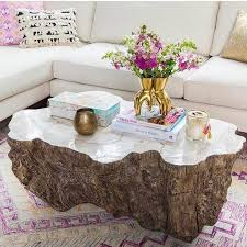 palecek lava clam shell table