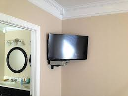 Corner Tv Wall Mounts With Shelves Magnificent Corner Wall Mount Tv Wall Mounted Brackets With Shelves