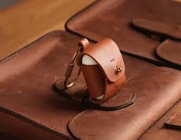 elago airpods leather case