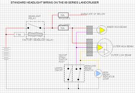 80 series land cruiser headlight wiring original wiring